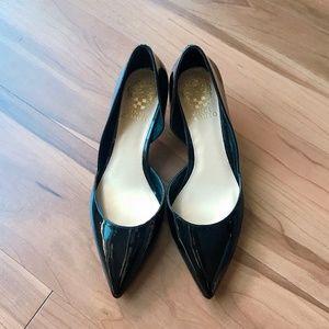 Shoes - Vince Camuto Jordyna d'Orsay Pump Black Patent 6.5